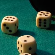 Image: Dice in a casino
