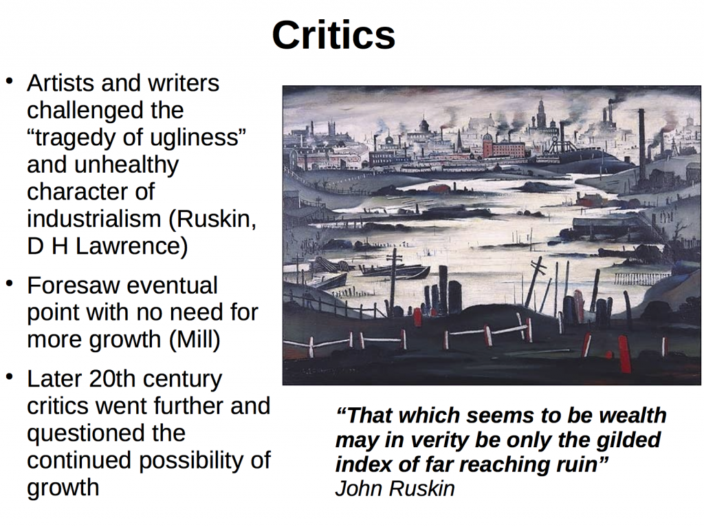 The painting is by Lowry. On D H Lawrence: http://www.griseldaonline.it/temi/ecologia-dello-sguardo/lawrence-ecological-consciousness-pissarello.html